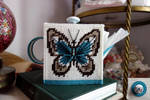 Butterfly Teapot Tissue Box by pinkythepink