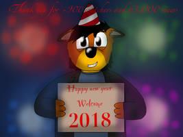 Happy new year 2018 by ZachMFKAttack