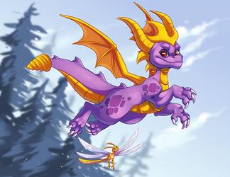 Spyro by Opheleus