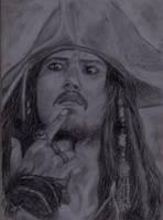 Jack Sparrow by akhyar2203