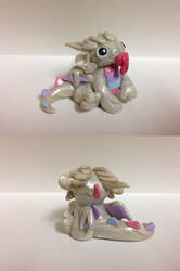 Baby Pastel Dragon by QuetzalLeo