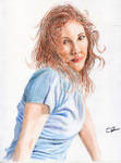 Girl in Blue by phydeau