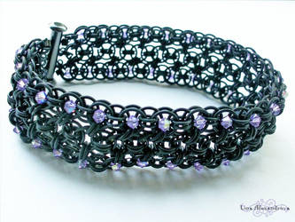 Chainmaille: Sparkle Bracelet by LinaIvelle