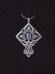 Gothic Pendant Sketch by LinaIvelle
