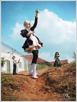 Puppets' Field - 2 by saharasnow