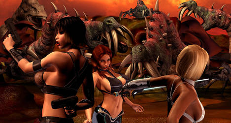 Predator Planet 4 preview by PerilComics
