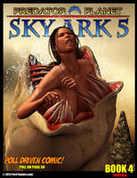Sky Ark 5 Book 4 On Sale Now by PerilComics