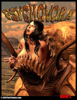 PSYCHOVORA Book 2 On Sale Now! by PerilComics