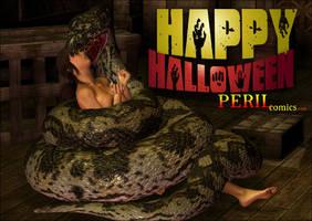 HAPPY HALLOWEEN FROM PERIL COMICS! by PerilComics