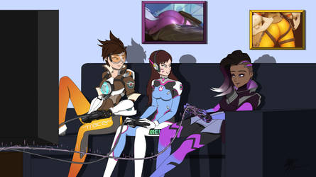 Overwatch - Where's the fun in playing fair? by mchan30