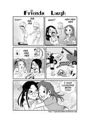 Friends Laugh Comic by OgawaBurukku