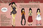VESTA Character Design Sheet by OgawaBurukku