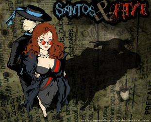 Santos and Faye from Camarilla by OgawaBurukku