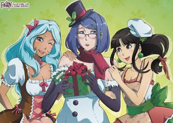 Merry Christmas 2017 by OgawaBurukku