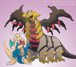 Pokemon Drawz Day 12: Giratina Dragonite Druddigon by OgawaBurukku
