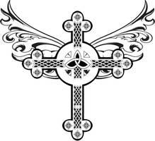 celtic cross by GabeRios