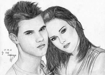 Jacob and Bella. Part two by LadaLamperouge
