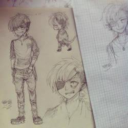 Character Design OC Rico by 46Akuma