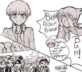 Buuuuuh Albert, buuuuuuh! by 46Akuma