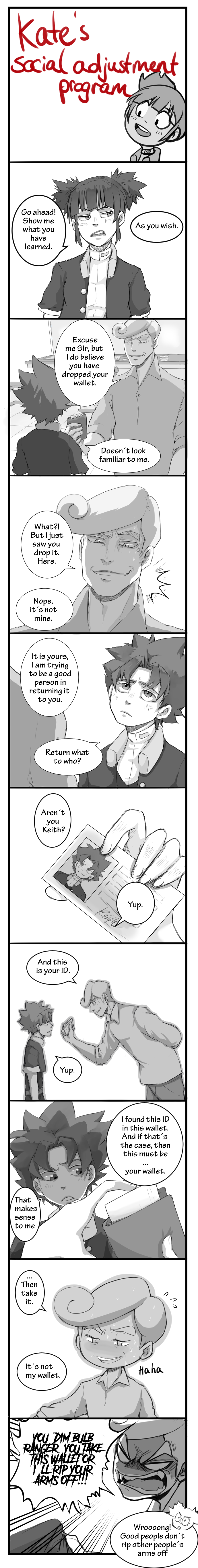You dropped your wallet, Sir! by 46Akuma