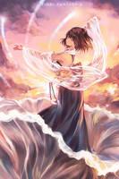 Yuna--FINAL FANTASY  X by qianshuhao