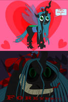 Queen Chrysalis=Adorably Frightening by beats0me