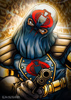 Cobra Commander by cussoncheung