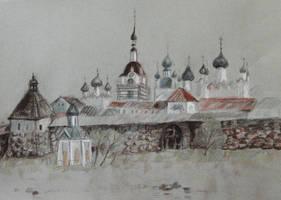 Solovetsky Monastery by arzaliz