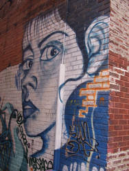 Cool Graffiti On The Street by Super87