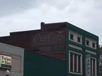 Old Coca-Cola Advetisement by Super87