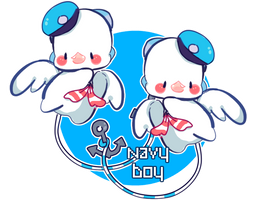 [CLOSED Auction: Pukimi] Navy Boy by milkipu