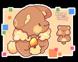 Xmas Teddy by milkipu