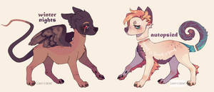 grunge puppers auction by milkipu