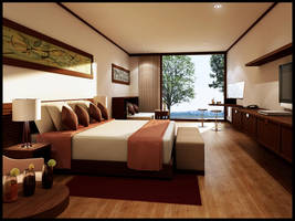 Bedroom, Carribean by Danur78