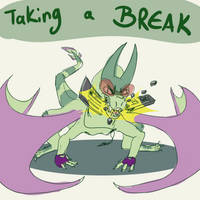 Break Time by Flame-Shadow