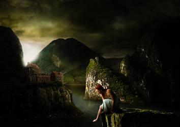 Sunset in Scotland by ChristianBT