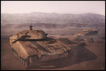 Tank Patrol by ChristianBT