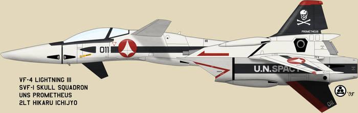 VF-4 DYRL Hikaru by talos56