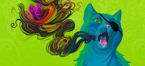 Cat Smoke by kycha-trypov