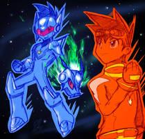 ROCKMAN, SHOOTING STAR! by Dante91