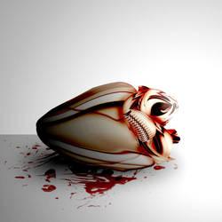 Metallic Heart by ChickenChasser