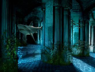 Underwater Scene by ChickenChasser