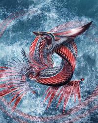 Briny Deep Dragon by ChickenChasser