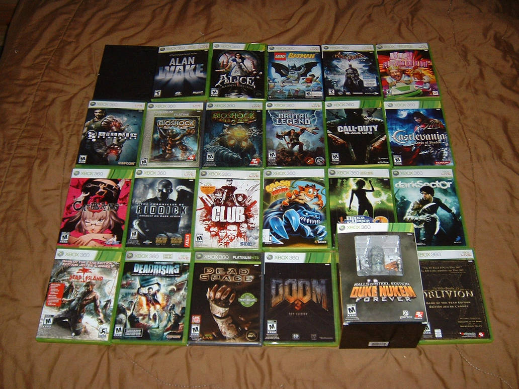 Xbox 360 Game Collection Wwwtollebildcom