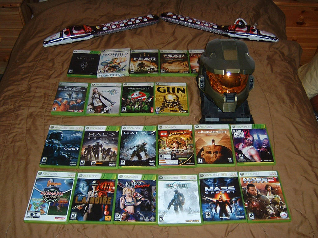 Microsoft Xbox 360 Game Collection Part 2 By Tinythegiant On Deviantart