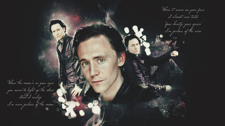 Tom Hiddleston Wallpaper request by Nobuyuki7