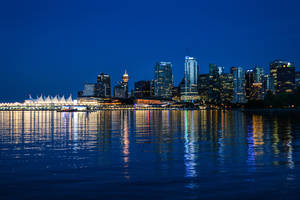 Summer Night in Vancouver by dashakern