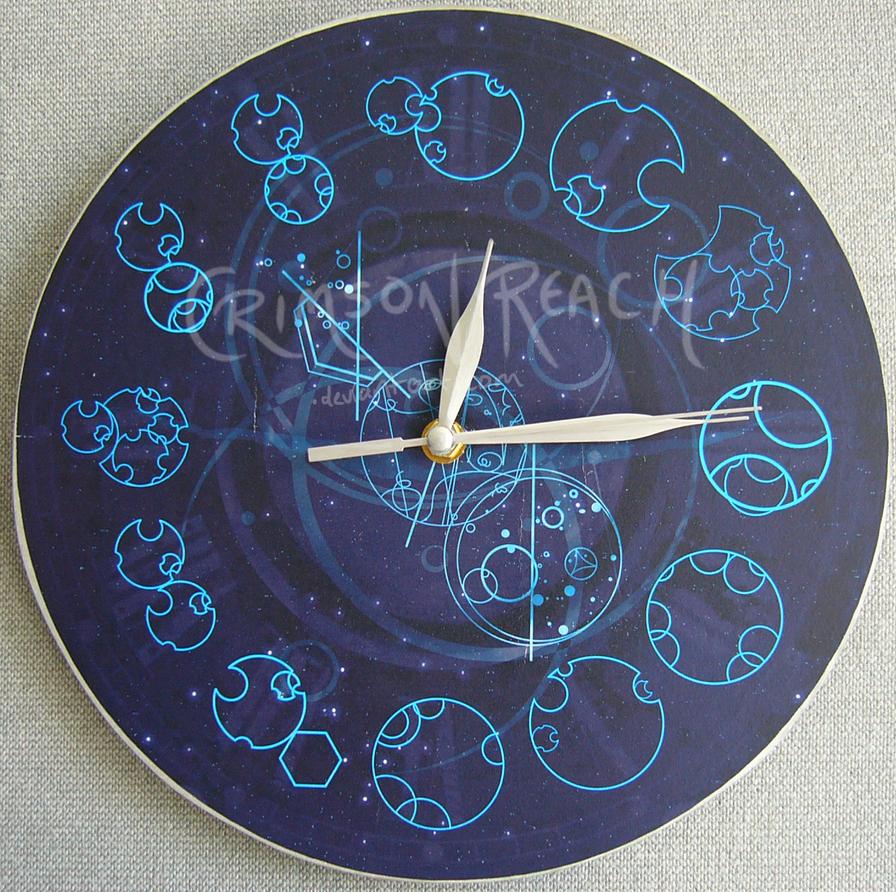 Gallifreyan Timepiece by CrimsonReach