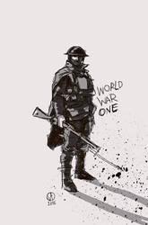 Battlefield 1 English Soldier by osvaldoVSARTS