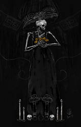 Dia de muertos(Day of the Dead) by osvaldoVSARTS